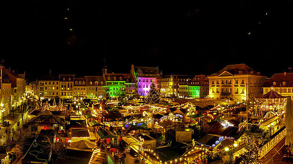 Thomas-Nast-Nikolausmarkt in Landau