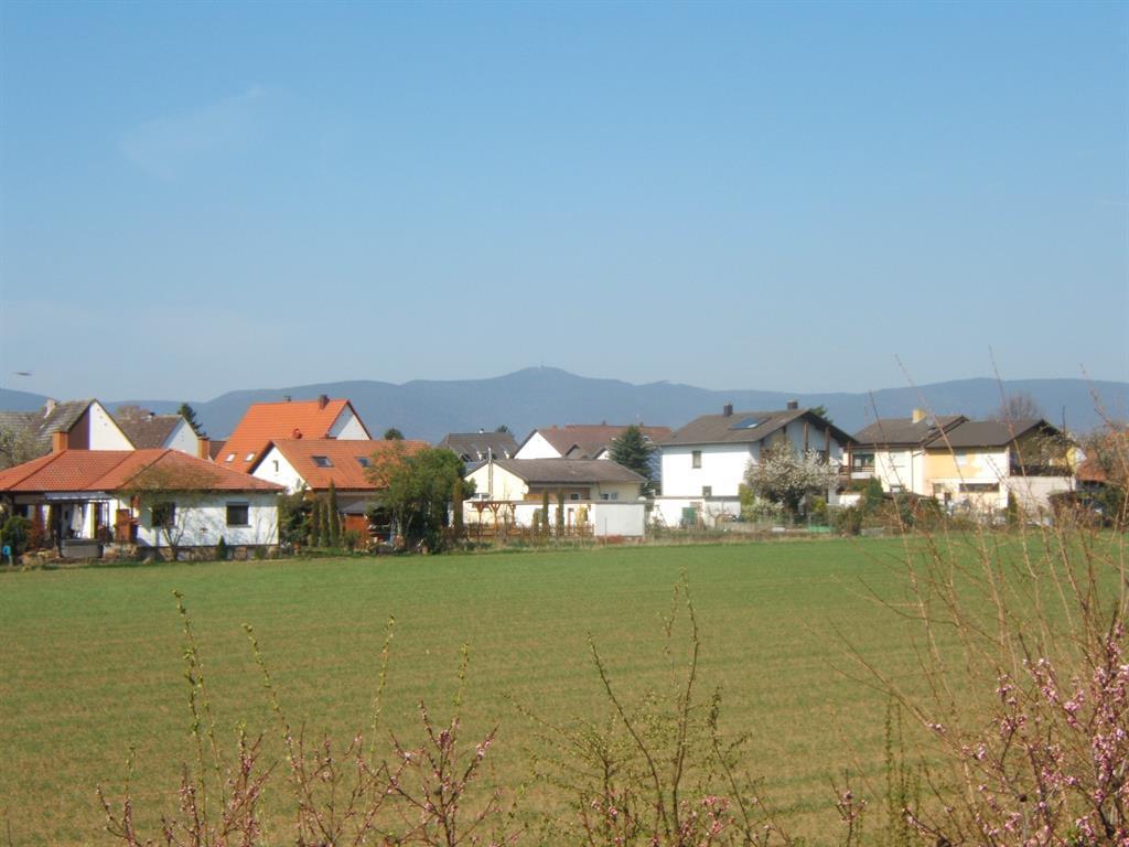 Blick auf das Dorf