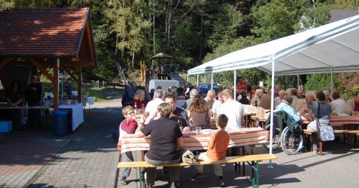 Herbstfest am Holzbackofen