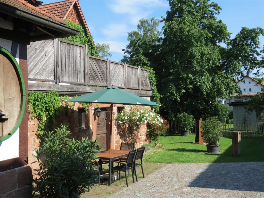 Martinshof Ferienwohnungen Innenhof
