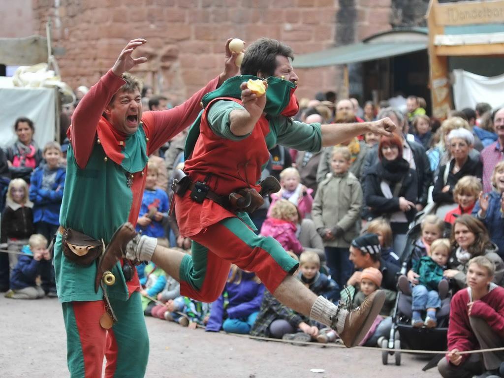 Burgfest Hardenburg