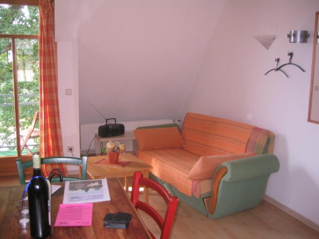 Wohnung Isenach - Sitzecke