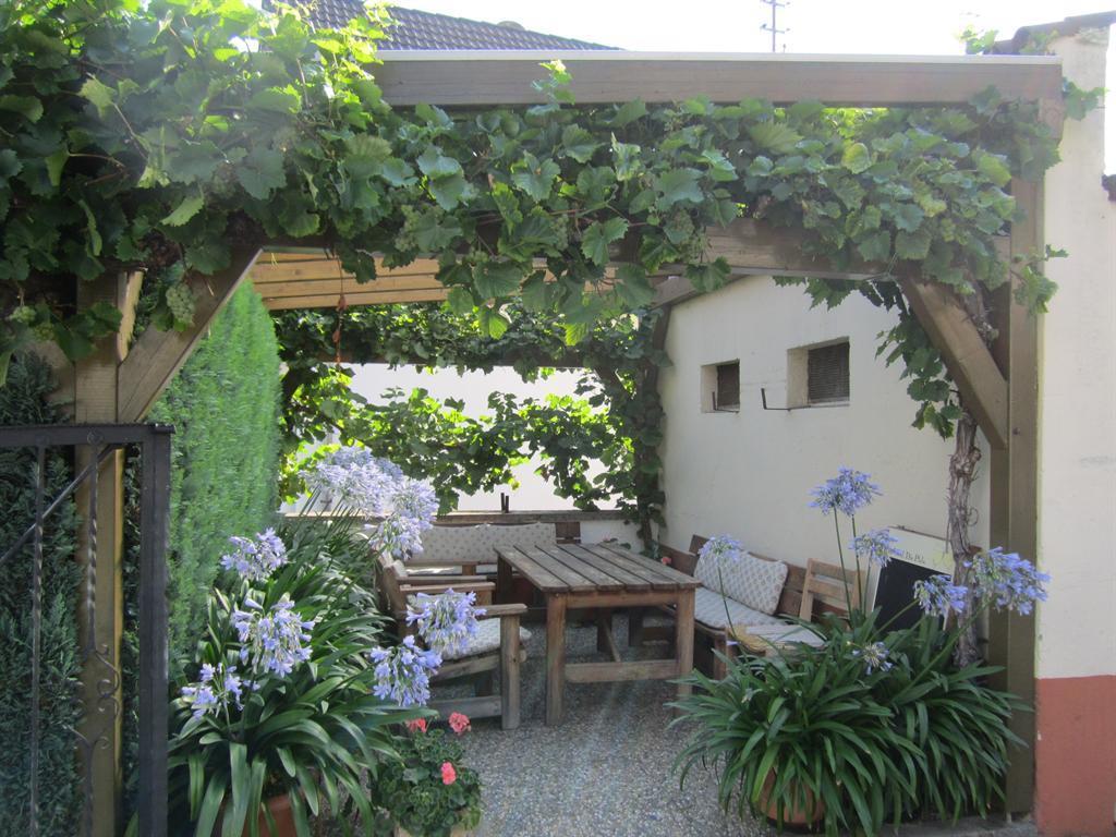Sitzplatz für beide Ferienwohnungen