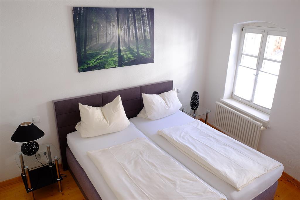 Schlafzimmer Appartement 1