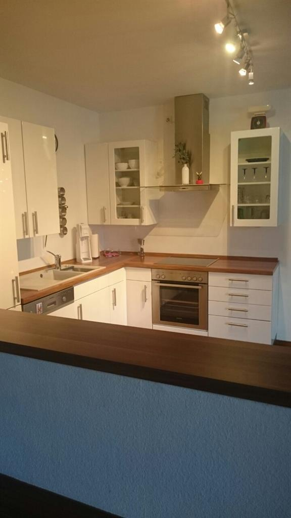 Küche der Vermieterin