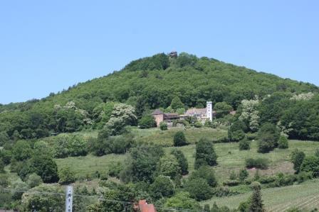 Slevogthof und Burgruine Neukastell