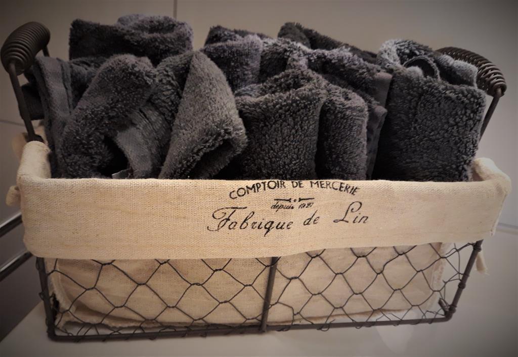 kostenfreie Handtücher und Waschtücher
