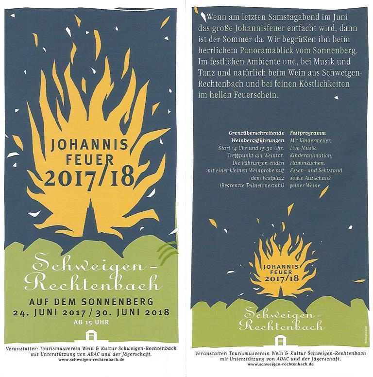 Johannis Feuer 2017 / 18
