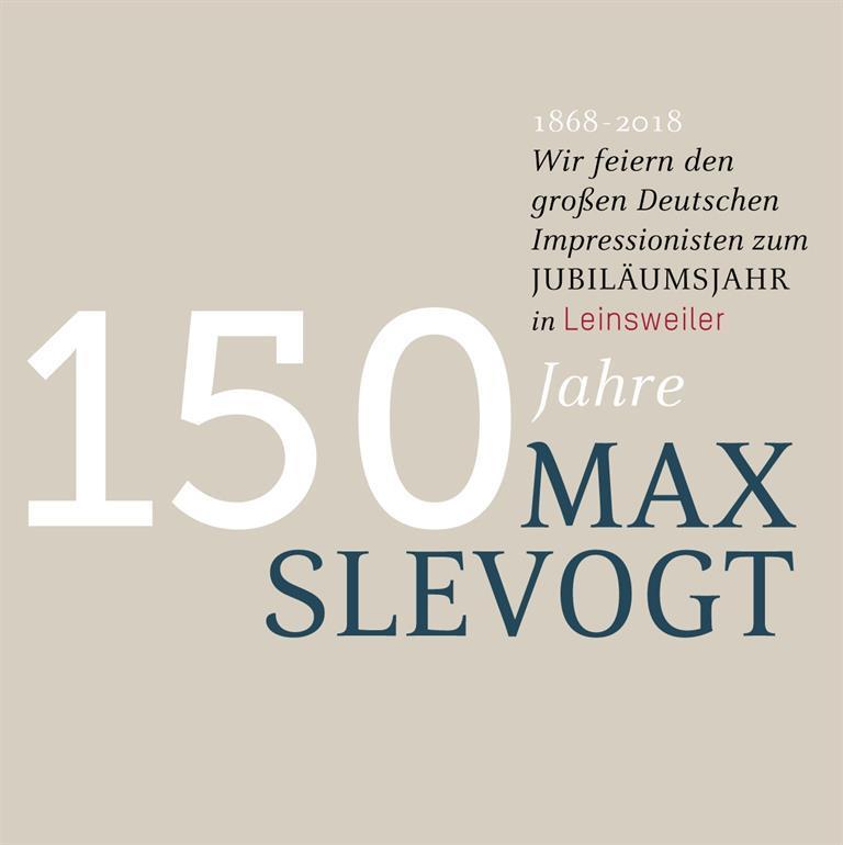 150 Jahre Max Slevogt